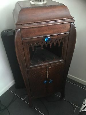 Old gramaphone cabinet