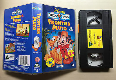 Disney - Frontier Pluto - Cartoon Classics - Volume 3 - Vhs Video