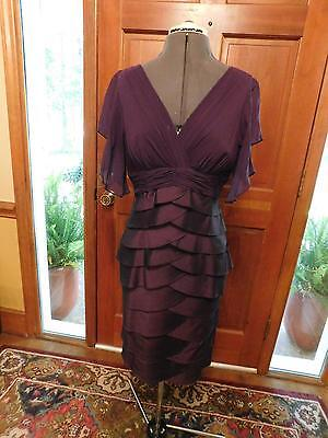 Gorgeous Mother Of The Bride Or Groom Or Special Occasion Grape Formal Size 10