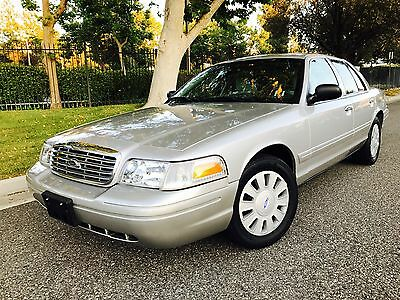 2007 Ford Crown Victoria STREET APPEARANCE PACAKGE 2007 FORD POLICE INTERCEPTOR P-71 STREET APPEARANCE PACKAGE (UNMARKED UNIT)