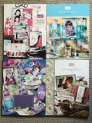 Stampin' Up! Retired Idea Book and Catalog Lot - 2003 2004 2005 2006 NEW!