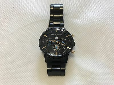 Excellent! ONE PIECE FILM GOLD x Citizen Independent Limited Metal Wrist Watch
