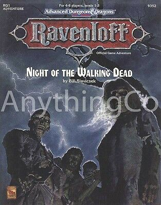 AD&D - 9352 - RQ1- Ravenloft - Night of the Walking Dead - EXC/NM