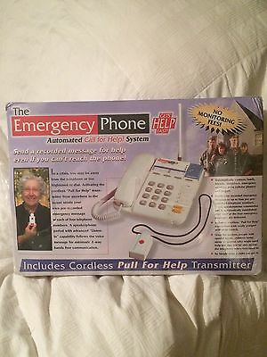 the emergency phone Automated Call For Help System