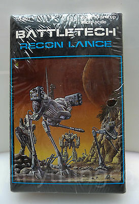 10-801 Battletech - Recon Lance - Ral Partha - New* Shrinkwrapped