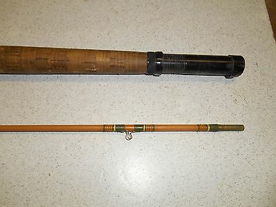 "Phillips Master  fiberglass fly rod. 6'-6"" - 2 pc. fair."