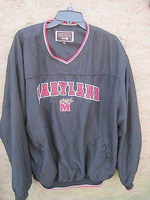 MARYLAND XL Colosseum Athletics College Product..Pullover Jacket Style Shirt