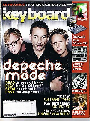 "DEPECHE MODE ""Just Can't Get Enough"" Electronic Rock, ADELE's Keyboard 2009"