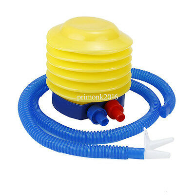 1Pc Portable Plastic Air Compressor Mini Simple Inflator Foot Pump For Balloon