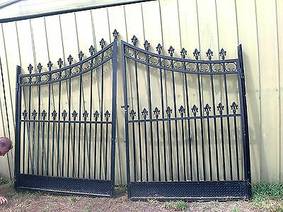 French Style Architectural Double Gates