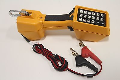 Fluke Networks TS22A Series Telephone Test Set with Angled Piercing Clips