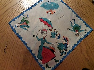 Vintage Childrens THE SOUND OF MUSIC   Child's Hankie DISNEY