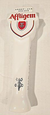 """New in Box - Abbey Ale Anno 1074 Affligem Ceramic Beer Tap Handle - 9"""""""