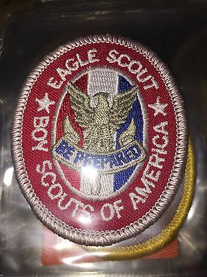 Boy Scouts of America Eagle Scout Award Patch BSA 2010 Backing