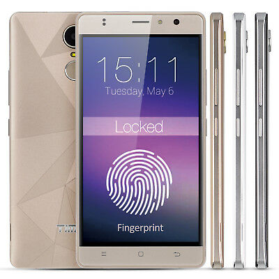 "5.5"" TIMMY Fingerprint 8MP Android 6.0 Mobile Smartphone Unlocked 1+8GB 4Core 3G"