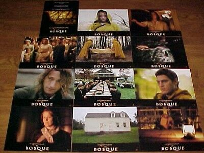 Joaquin Phoenix The Village lobby card set 12 Adrian Brody M. Night Shyamalan