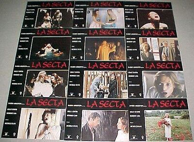 The Sect horror lobby card set 12 Dario Argento Michael Soavi supernatural