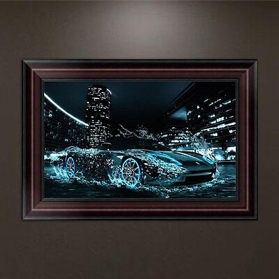 DIY 5D Diamond Embroidery Racing Car Painting Cross Stitch Home Decor Craft
