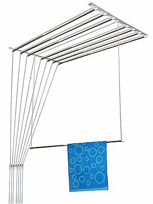 Rainbow Drywell 8 pipes 5 feet Luxury Ceiling Cloth Dryer Pulley Airer Laundry