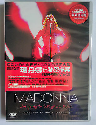 "Rare Madonna, Sealed, Taiwan: ""I'm Going to Tell You A Secret"" DVD and Live CD"