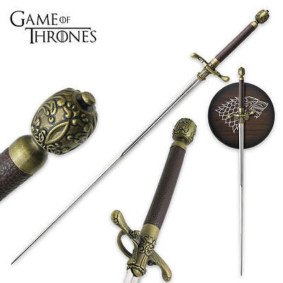 """NEEDLE""Game Of Thrones  Sword Of Arya Stark HBO version with Plaque Replica"