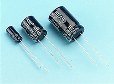 Electrolytic Capacitors (Radial) 85° ECR Series 1uf - 4700uf / 16v - 63v