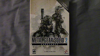 Metal Gear Solid 2 Substance PC in Big Box 2003 in Nice Condition
