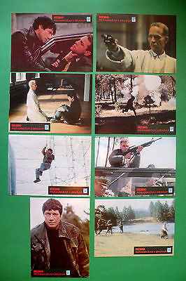 Remo Williams:the Adventure Begins 1985 Fred Ward J.grey Unique Exyu Lobby Cards