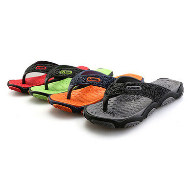Mens Leather Thoungs Flip Flops Sport Sandals Mens Leather Sandal Beach Sandals