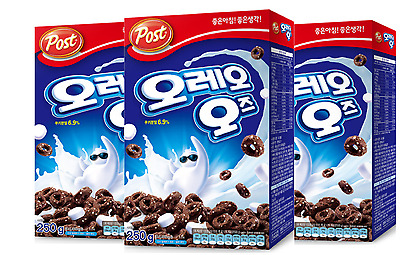 (Korea)OREO O'S Cereal 250gram(8.8oz)  with marshmallow(shipped by airmail)