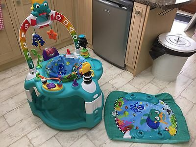 Baby Einstein 2 In 1 Light Up Activity Station