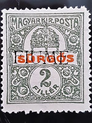 Fiume 1919 Sc # E1 Special Delivery 2 Filler MHR Stamp