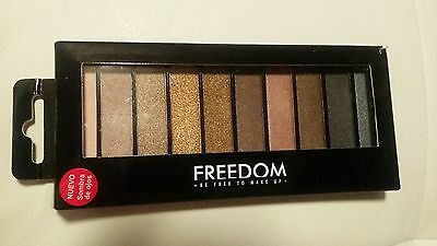 Genuine new in box Freedom UK Eye Pro eyeshadow palette Bare makeup