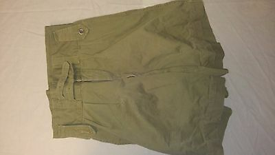 Post WW2 WWII Canadian Khaki Shorts