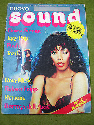 "RIVISTA "" NUOVO SOUND - DONNA SUMMER "" N° 7 del 7-8 / 1979 - The BEATLES"