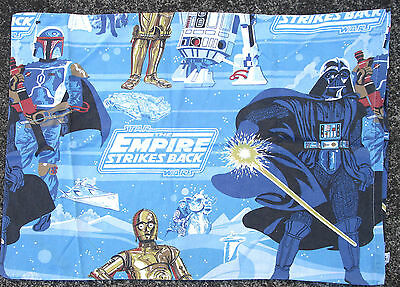 "Vintage Rare Star Wars ""empire Strike  Back"" Pillowcase"