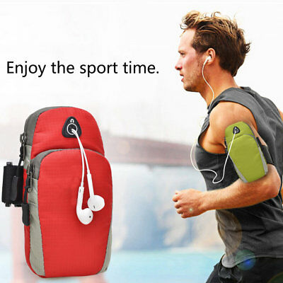 Sports Running Jogging Gym Armband Arm Band Holder Bag For Mobile Phones WE