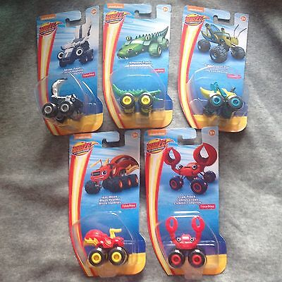 Blaze And The Monster Machines MINI FRIENDS Set Of 5 BNIP