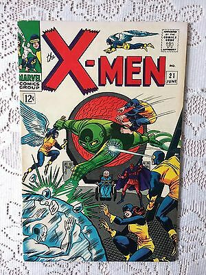 Marvel Comics X men # 21 1966 VF