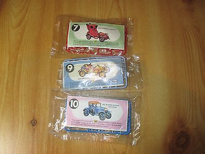 R & L CEREAL TOYS: VINTAGE CARS, from the JET PETROL COMPANY, U.K. MIP.