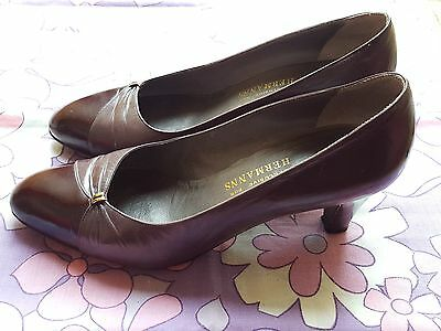 BRUNO MAGLI made in ITALY exclusively for HERMANNS shoes heels 37.5 VINTAGE