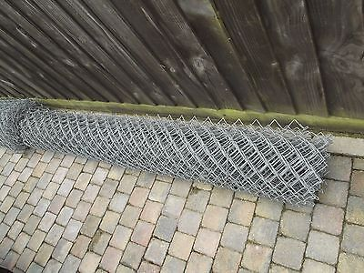 6.7 mtr Roll of chain link fencing 1.8 mtr wide 11 swg