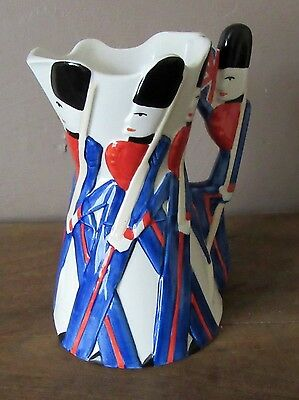 Burleigh Ware Guardsman Marching Soldiers Jug