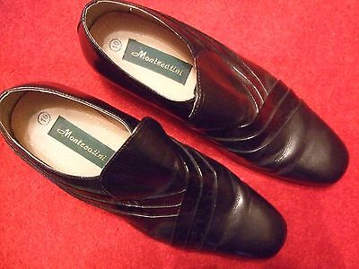 Montecatini Mens Leather Dance  Shoes (size 10) - worn once