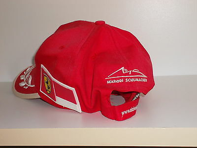 Cappello Dekra Pole Position F1 Licenza Ferrari Schumacher Collection Signs