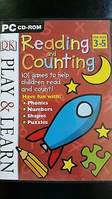 Dorling Kindersley Reading and Counting Pc Cd-Rom for Ages 3-5