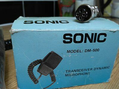 Transceiver Dynamic Microphone
