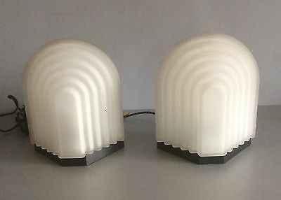 Two Murano's Glass Lamps