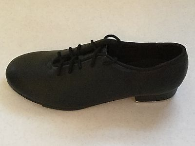 So Danca TA05 Black Lace-Up Oxford DANCE TAP SHOES - All Sizes-RUN SMALL (NIB)