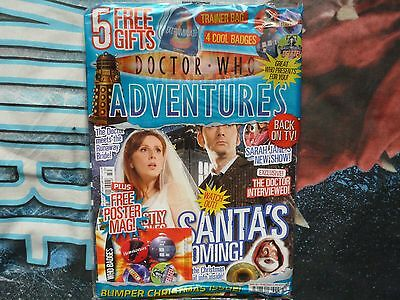 Doctor Who Adventures #19. With Dalek Trainer Bag. Dec 2006. Rare.